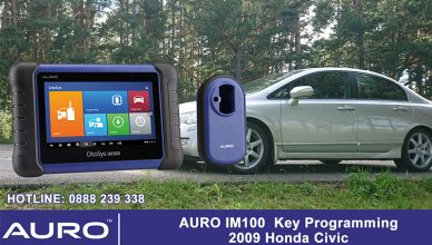 auro-im100-key-programming-2009-honda-civic