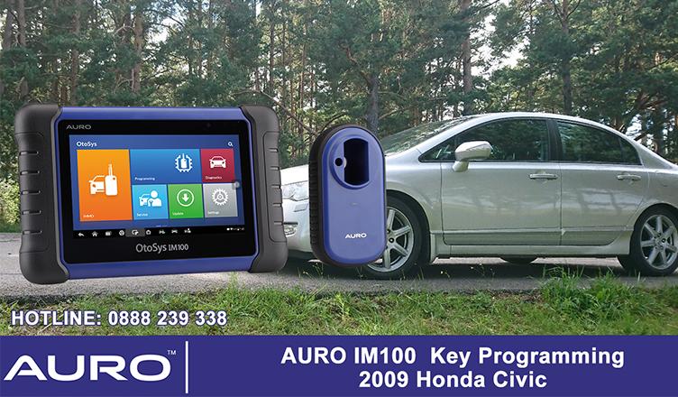 auro-im100-key-programming-2009-honda-civic